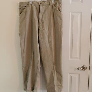 Men's Wrangler cargo khakis